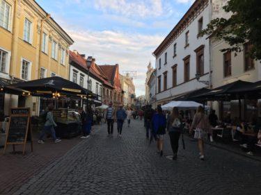 【リトアニア】ビルニュスはストリートライブ天国